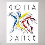 Dançarinos abstratos - conseguiu dançar
