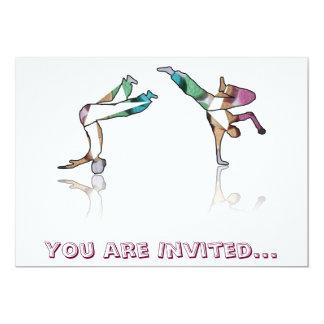 dançarinos biscoito do convite, você é convidado…
