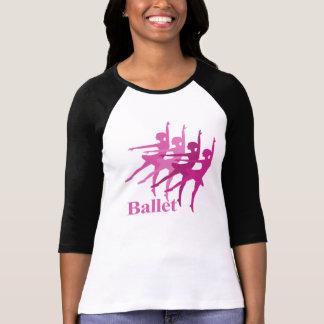 Dançarinos de balé camisetas