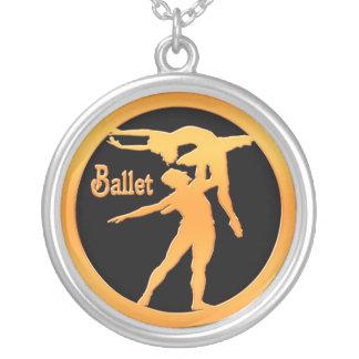 Dançarinos de balé bijuterias personalizadas