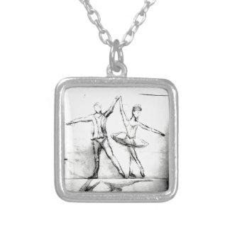Dançarinos de balé colar