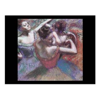 Dançarinos de Edgar Degas Cartão Postal