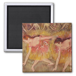 Dançarinos de Edgar Degas que dobram-se abaixo do Imã