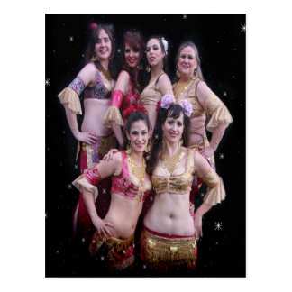 Dançarinos de Joweh Cartão Postal