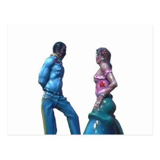 Dançarinos os presentes de Zazzle do MUSEU Cartoes Postais