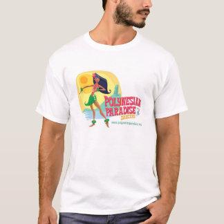Dançarinos polinésios do paraíso camiseta