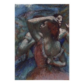 Dançarinos por Edgar Degas