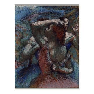 Dançarinos por Edgar Degas Cartão Postal