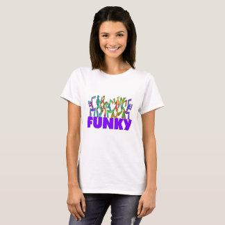 Dançarinos psicadélicos FUNKY do disco Camiseta