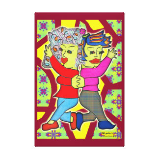 Dance Little Sister nº 2 Impressão Em Tela