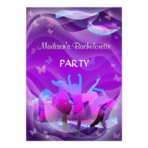 Dance party de Bachelorette Convite Personalizados