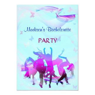 Dance party de Bachelorette Convites