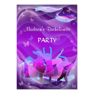 Dance party de Bachelorette Convite 12.7 X 17.78cm
