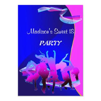 Dance party do aniversário