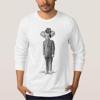Dândi do elefante camiseta