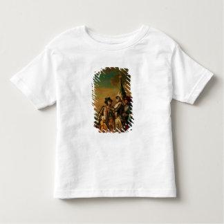 Dando a corrente da ordem de Saint-Michel Camiseta