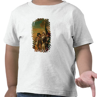 Dando a corrente da ordem de Saint-Michel T-shirts