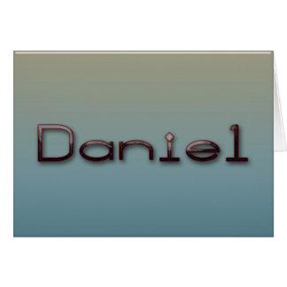 Daniel Cartão Comemorativo