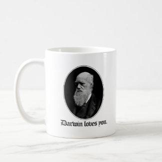 Darwin ama-o - evolução da equipe - - Pro-Ciência Caneca De Café