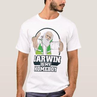 Darwin é minha camisa do ateu do ficar em casa