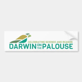 Darwin no Palouse Bumpersticker Adesivo Para Carro