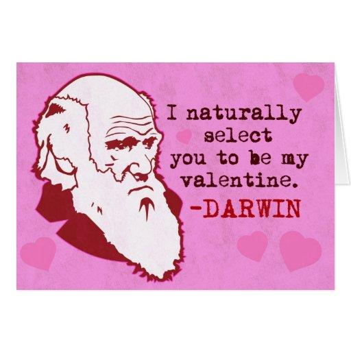 Darwin, seleciona-o naturalmente Valen… Cartoes