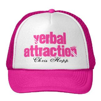 """Das """"atração verbal do camionista senhoras"""", Chris Boné"""