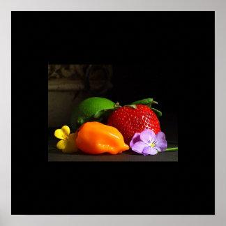 das frutas poster da vida ainda