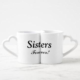 """Das """"irmãs grupo da caneca do assentamento para canecas para apaixonados"""