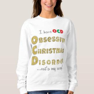 Das mulheres básicas da camisola do Natal camisa