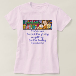 Das mulheres Loving dos feriados de Garfield Tshirts