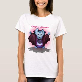 Das mulheres VAMPY do DIA DAS BRUXAS do ANIMAL DE Camiseta