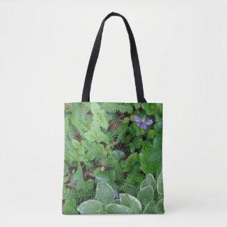 Das plantas naturais das samambaias da natureza bolsa tote