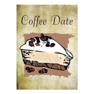 Data do café convite