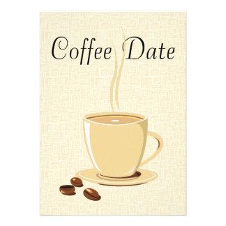 Data do café convites