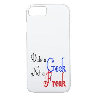 Date um geek não um anormal capa iPhone 7