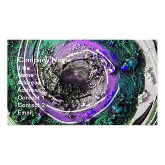 Daubs da pintura de Swirly Cartão De Visita