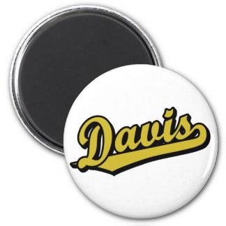 Davis no ouro imãs de geladeira