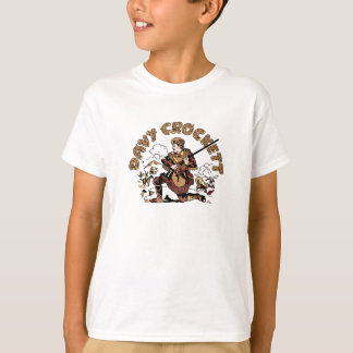 Davy retro Crockett Camiseta