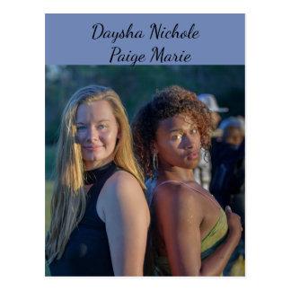 Daysha Nichole & Paige Marie, cartão