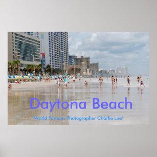 "Daytona Beach, ""mundo Famou… Pôster"