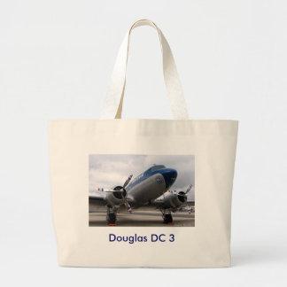 DC3, C.C. 3 de Douglas Bolsas De Lona