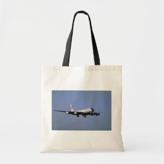 DC-8 expresso transportado por via aérea Sacola Tote Budget