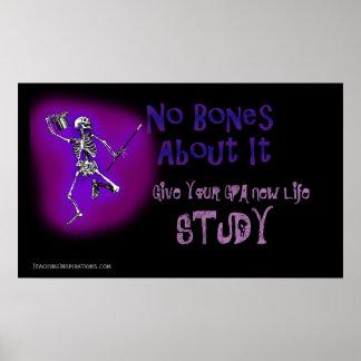 Dê a seu GPA o poster novo do estudo do _da vida