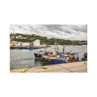 """De """"as canvas dos barcos pesca"""" imprimem/arte da"""