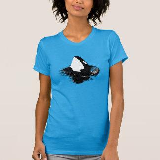 """De """"azul da camisa da baleia assassino"""" da orca"""