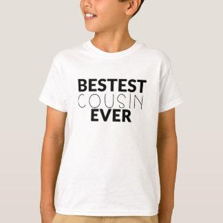 De Bestest do primo camisa dos meninos nunca