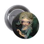 """De """"botão do mascarada Marie"""" Bóton Redondo 5.08cm"""