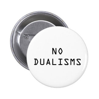 """De """"botão nenhumas dualidades"""" bóton redondo 5.08cm"""