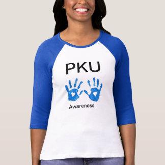 De camisa da luva das mulheres da consciência de